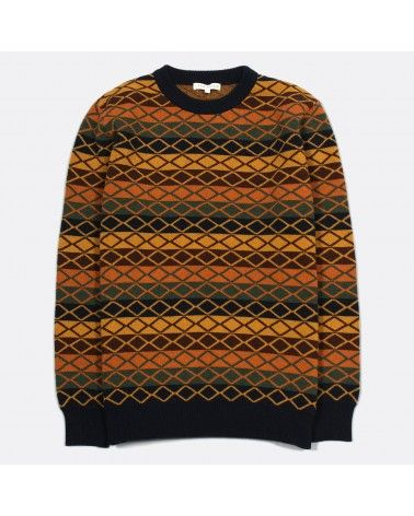 Far Afield - Pull Rune Knit Lambswool - Jacquard Far Afield - 1