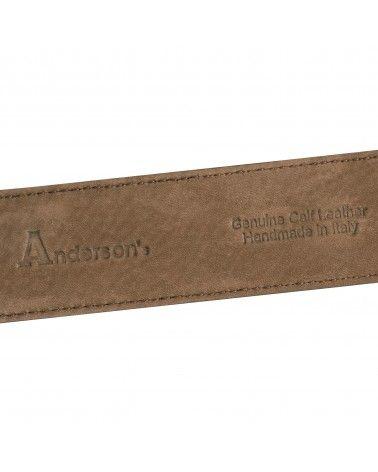 Anderson's - Ceinture en Daim - Marron Clair Anderson's - 3