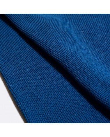 Far Afield - Pull Coton Organique Zaca Crew - Bleu Monaco Far Afield - 3