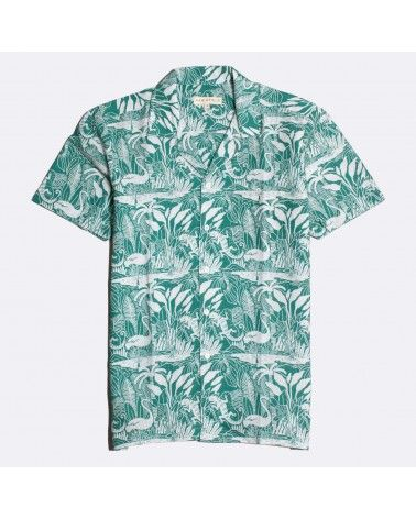 Far Afield - Chemise Manches Courtes Selleck - Vert Salines Far Afield - 1