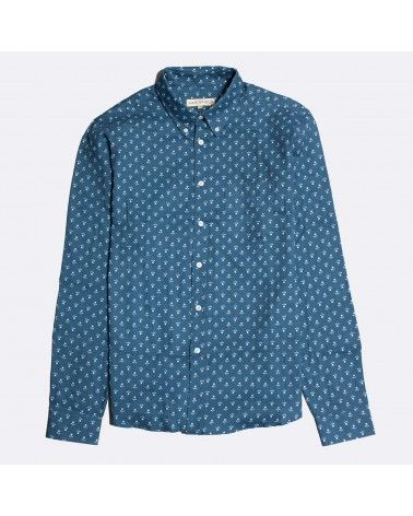 Far Afield - Chemise Mod Boutonnée - Chambray Floral Far Afield - 1