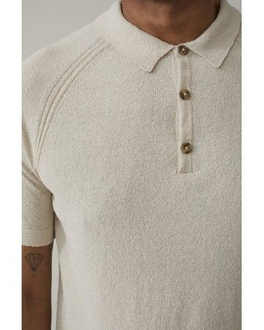 Closed - Polo Fine Maille Italienne - Beige Closed - 5