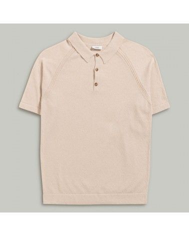 Closed - Polo Fine Maille Italienne - Beige Closed - 1