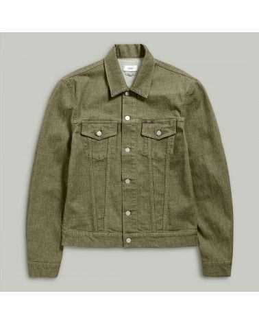 Closed - Veste Denim - Soft Kaki Closed - 1