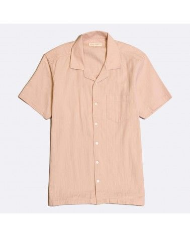 Far Afield - Chemise Manches Courtes Stachio - Rose Pale Far Afield - 1
