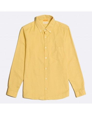 Far Afield - Chemise Coton texturé - Jaune Jojoba Far Afield - 1