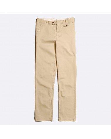 Far Afield - Pantalon Tricker Chino Slim - Beige Far Afield - 1