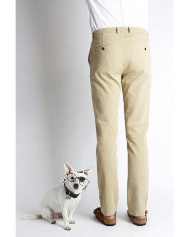Homecore - Pantalon Chino Pyrus Twill - Beige Homecore - 4