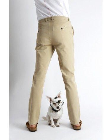 Homecore - Pantalon Chino Pyrus Twill - Beige Homecore - 3