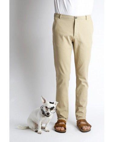 Homecore - Pantalon Chino Pyrus Twill - Beige Homecore - 2