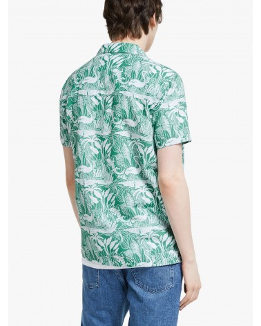 Far Afield - Chemise Manches Courtes Selleck - Vert Salines Far Afield - 6