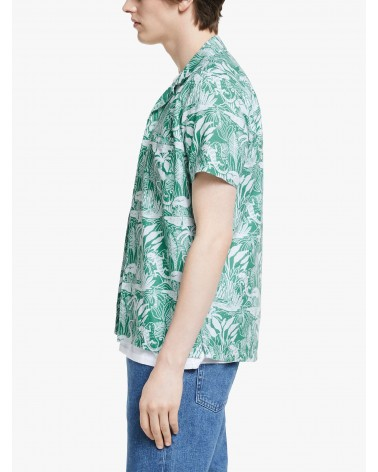 Far Afield - Chemise Manches Courtes Selleck - Vert Salines Far Afield - 5