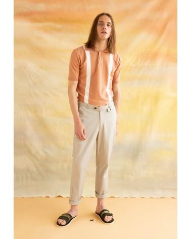 Far Afield - Pantalon Tricker Chino Slim - Beige Far Afield - 12