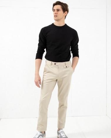 Far Afield - Pantalon Tricker Chino Slim - Beige Far Afield - 2