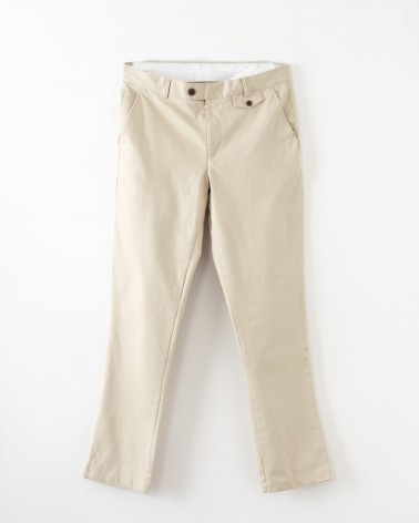 Far Afield - Pantalon Tricker Chino Slim - Beige Far Afield - 6