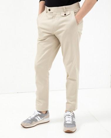 Far Afield - Pantalon Tricker Chino Slim - Beige Far Afield - 3