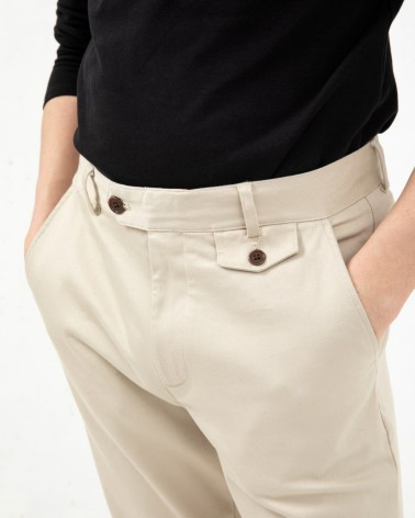 Far Afield - Pantalon Tricker Chino Slim - Beige Far Afield - 4