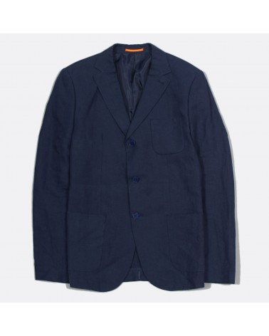 Far Afield - Veste Blazer Carter en Lin - Bleu Marine Far Afield - 1