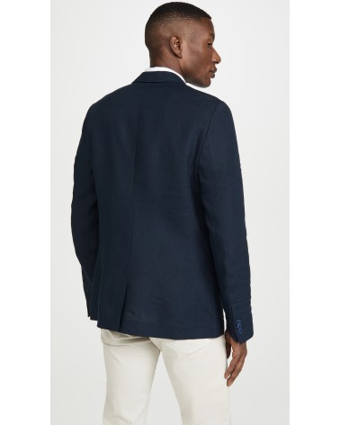 Far Afield - Veste Blazer Carter en Lin - Gris Anthracite Far Afield - 7