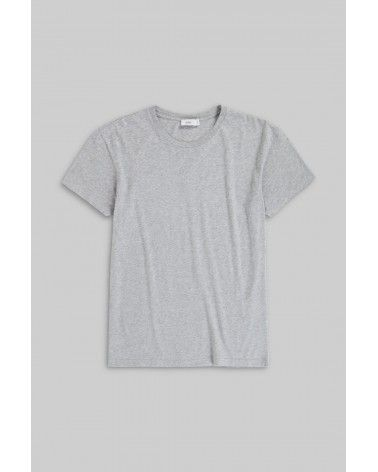 Closed - T-shirt Jersey Coton - Gris Closed - 1