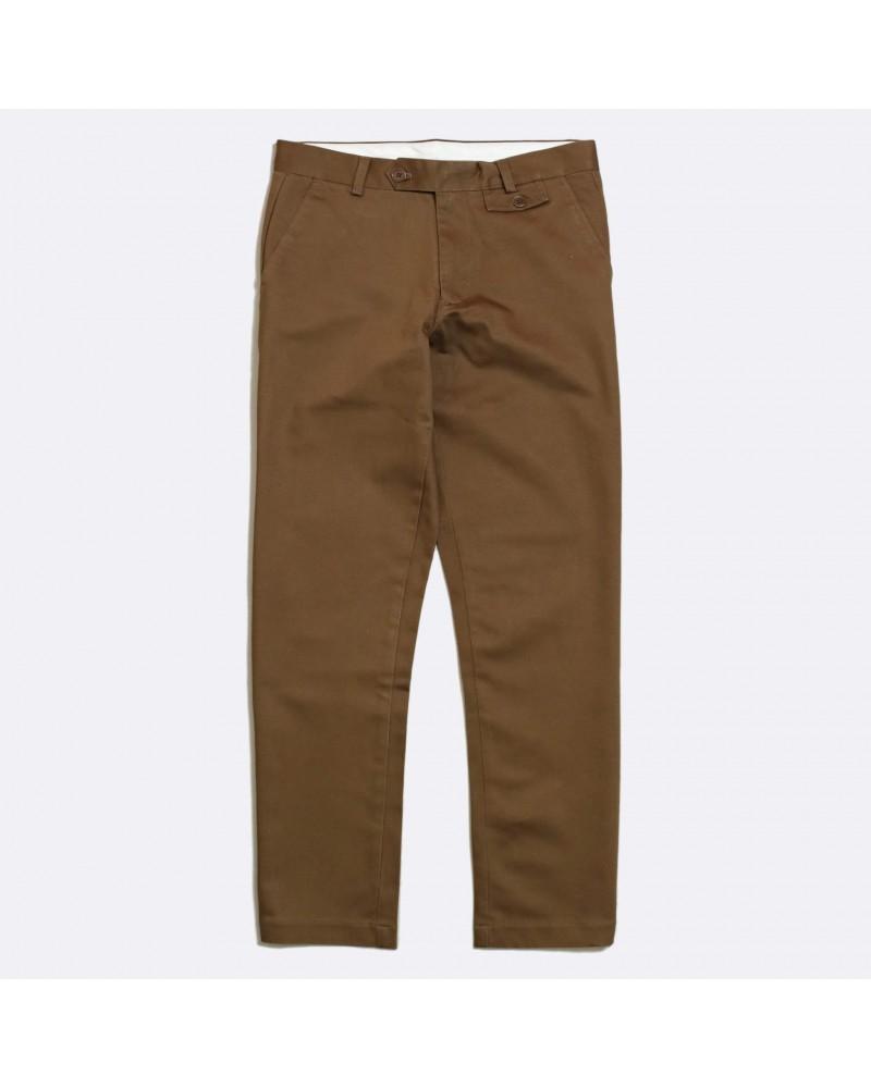 Far Afield - Pantalon Chino Tricker - Marron Far Afield - 1