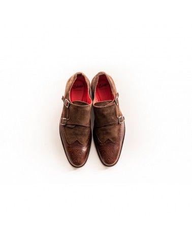 Labuta - Chaussures Monge Daim & Cuir - Marron Labuta - 2