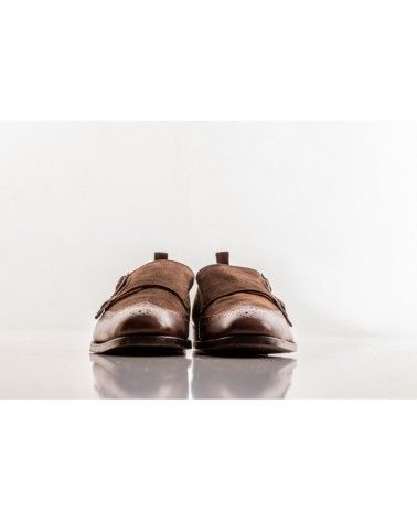 Labuta - Chaussures Monge Daim & Cuir - Marron Labuta - 3