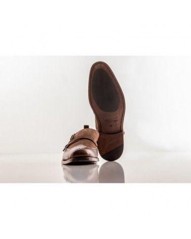 Labuta - Chaussures Monge Daim & Cuir - Marron Labuta - 4