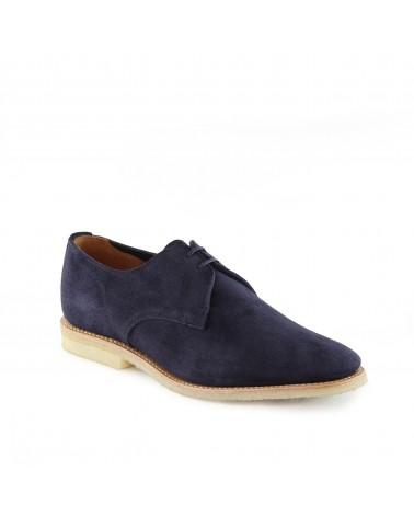 Sanders - Chaussures Jacob - Gibson - Daim - Bleu Ocean Sanders - 2