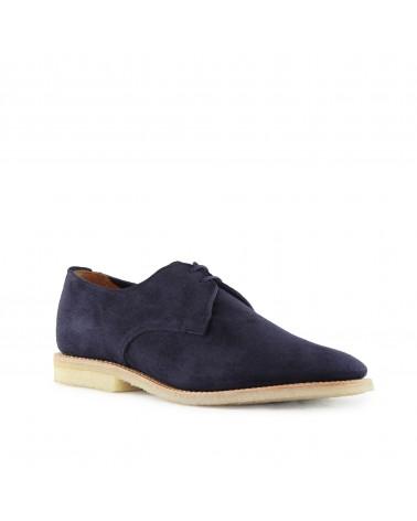 Sanders - Chaussures Jacob - Gibson - Daim - Bleu Ocean Sanders - 3
