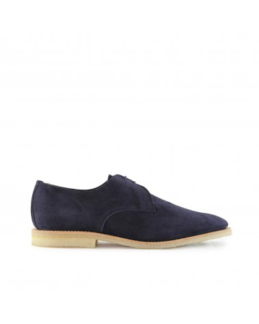 Sanders - Chaussures Jacob - Gibson - Daim - Bleu Ocean Sanders - 1