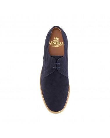 Sanders - Chaussures Jacob - Gibson - Daim - Bleu Ocean Sanders - 4