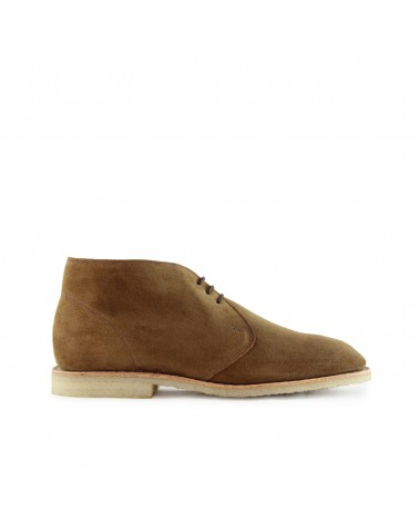 Sanders - Chaussures Marvin - Bottines Chukka - Daim - Marron Tabac Sanders - 1