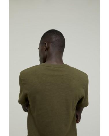 Closed - T-shirt Brodé - Vert Chard Green Closed - 6