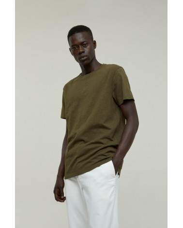 Closed - T-shirt Brodé - Vert Chard Green Closed - 2
