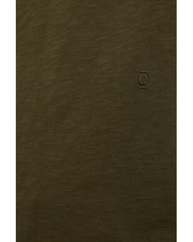 Closed - T-shirt Brodé - Vert Chard Green Closed - 8
