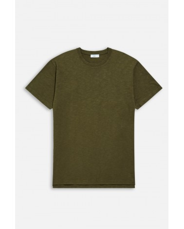 Closed - T-shirt Brodé - Vert Chard Green Closed - 9