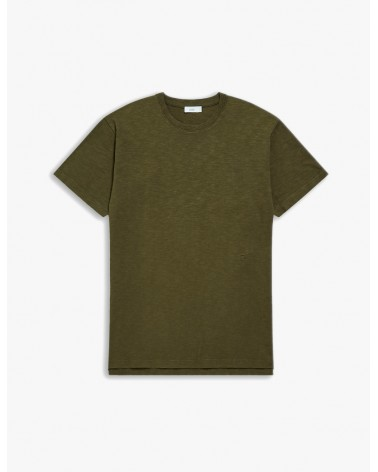 Closed - T-shirt Brodé - Vert Chard Green Closed - 1