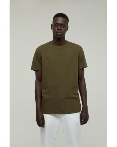 Closed - T-shirt Brodé - Vert Chard Green Closed - 3