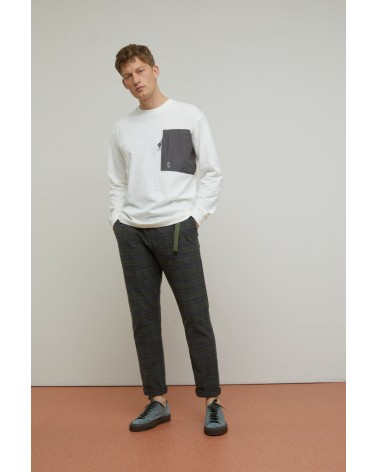 Closed - Buckle Pant - Relaxed Fit - Carreaux Closed - 3