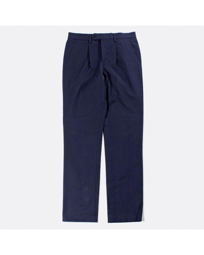 Far Afield - Pantalon à pince - Bleu Marine Far Afield - 1