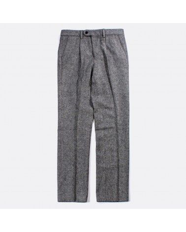 Far Afield - Pantalon à pince en laine - Gris Chiné Far Afield - 1
